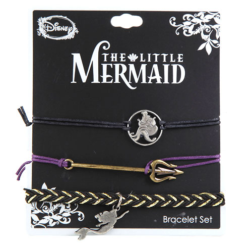 Disney's Little Mermaid Icons Bracelet Set