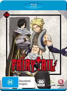 Fairy Tail Collection 19 Blu-ray Cover Artwork