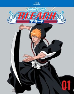 Bleach Anime Series B;u-ray Set 1 Cover Artwork Featuring Ichigo