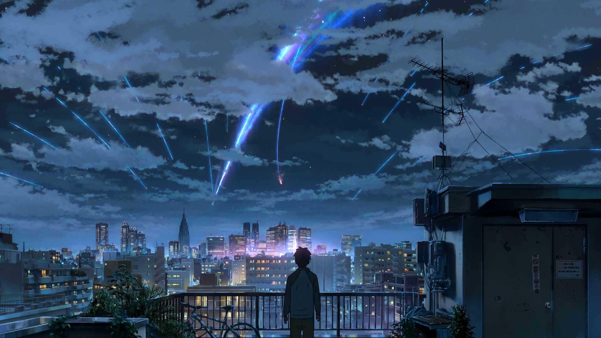 Makoto Shinkai's Your Name