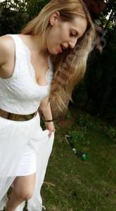φορεμα δαντελα