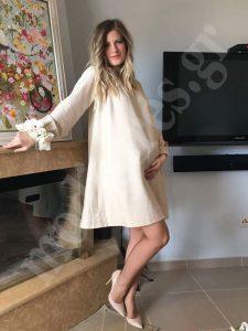 Φόρεμα πολιτικού γάμου για έγκυο_02
