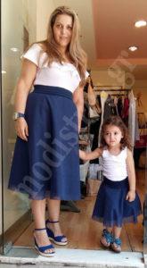 Μαμά και κόρη ίδιο στυλ