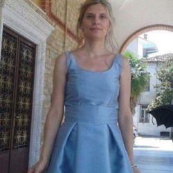 Ραφή φορέματος για κουμπάρα