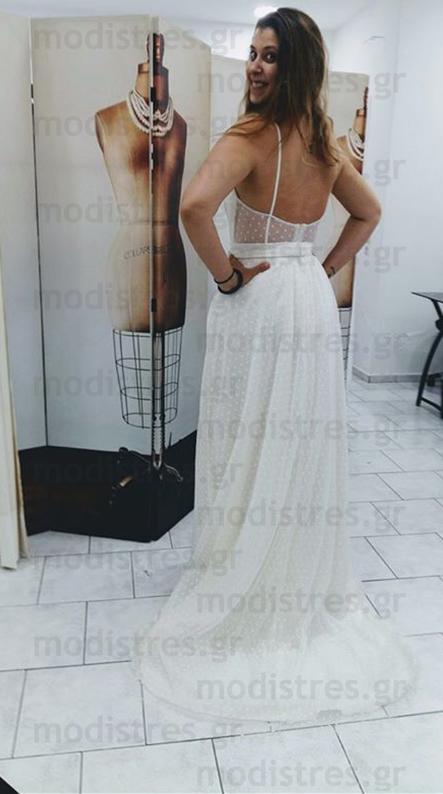 Νυφικά φορέματα απλά