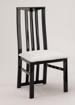 http www modiva be produit amor cromo chaise design en noir et blanc garnie de strass par lot de 2