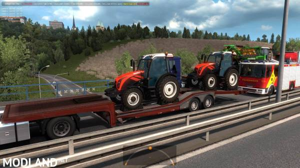 Agricultural Trailers Pack In Traffic 1 35 X Ets2 Mods