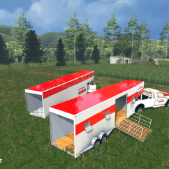 Semi Trailer Deutsch Bovine Anatomy Diagram Uhaul Trailers V 1.0 Mod For Farming Simulator 2015 / 15 | Fs, Ls