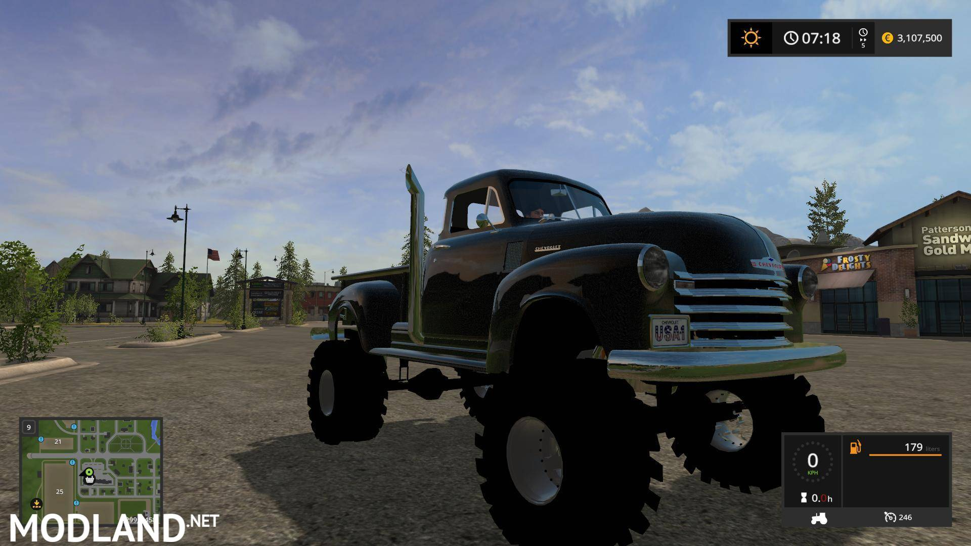 Chevy 17 Tires Truck