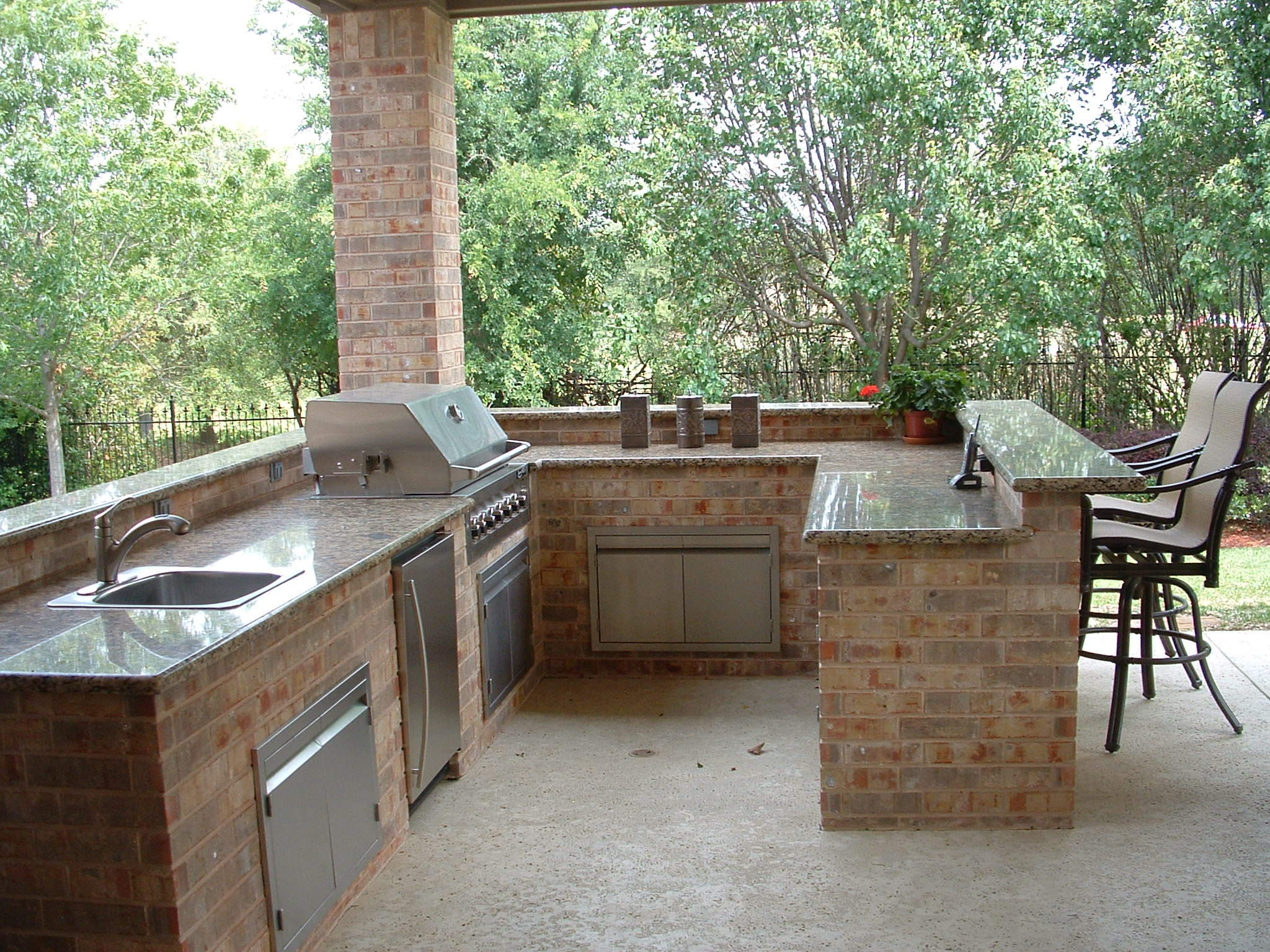 outdoor kitchen pics grommet curtains planning and installing an modlich