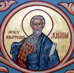 sveti Jozue - svetopisemski očak