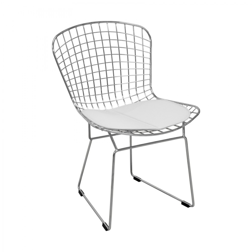 Chrome Wire Side Chair