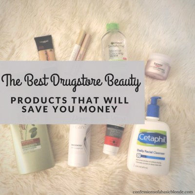 The Best Drugstore Beauty Products that will Save You Money