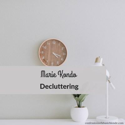 Marie Kondo Decluttering