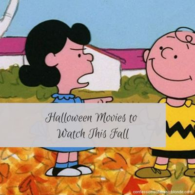 Halloween Movies to Watch this Fall