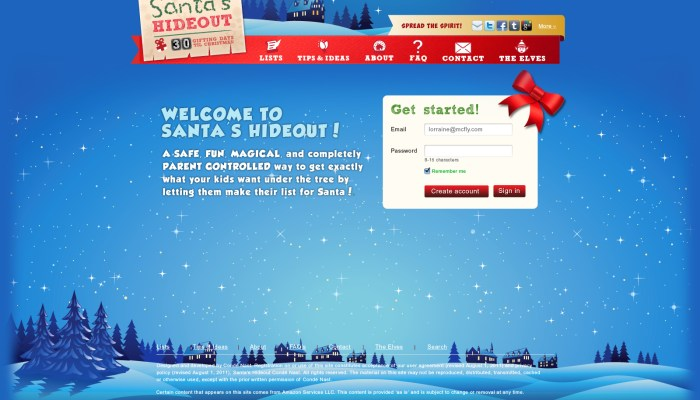 Santa's Hideout: New twist on timeless tradition