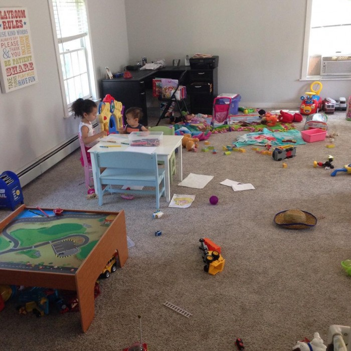 """When you have work to do and you let your kids """"entertain themselves"""" for 10 minutes."""