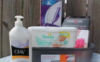 Spruce up for spring and wipe out winter blues {Pampers Giveaway}