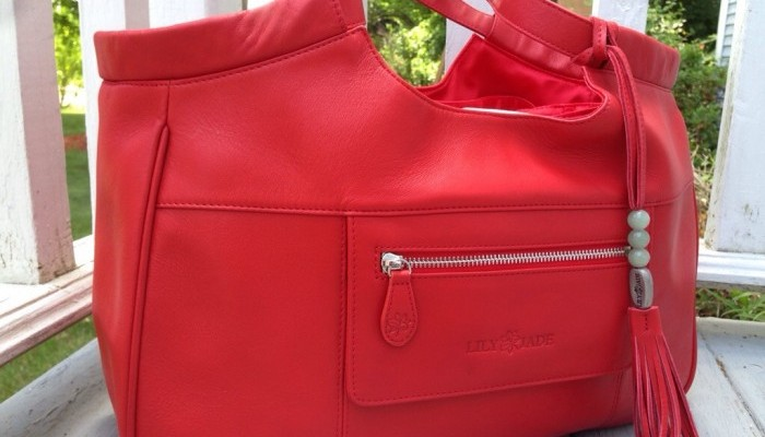{Review} Lily Jade designer diaper bags pull double duty