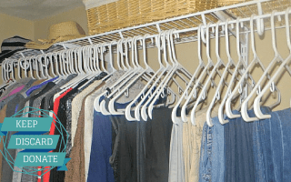 De-clutter your closets in 3 simple steps