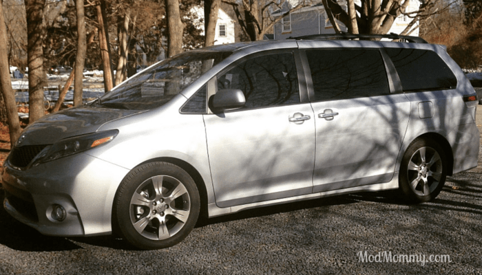 Welcome to suburbia! My week with the 2015 Toyota Sienna