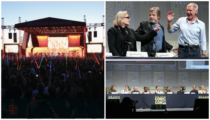 San Diego Comic-Con Fans Get Special Treat of Star Wars: The Force Awakens
