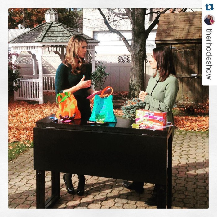 I am the queen of re-purposing stuff in my house....shared leftover #Halloween candy ideas today on @therhodeshow!