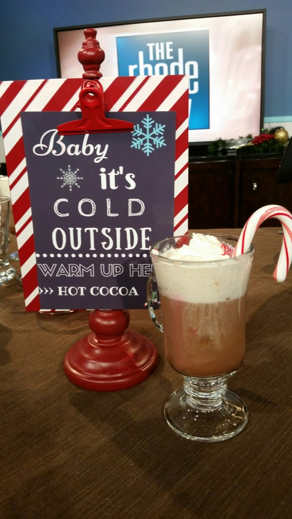Hot Cocoa Bar for Kids