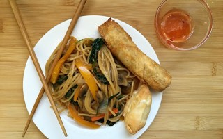 Quick and Easy Lo Mein for Chinese New Year