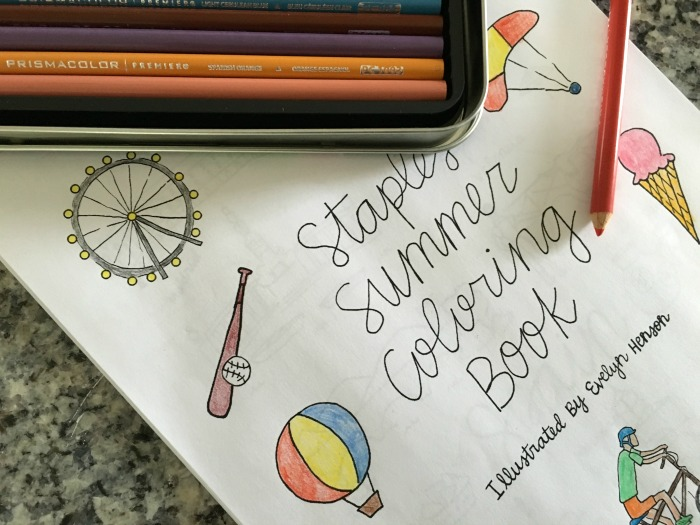 Adult Coloring Books Celebrate the Little Things @Staples #PrismaColor