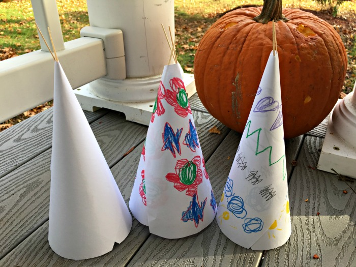 paper-teepees