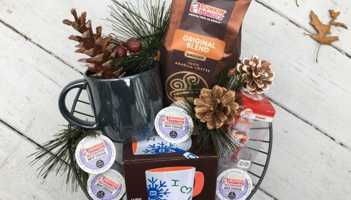Holiday Gift Idea: DIY Coffee Lovers Basket