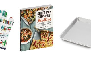 Add Sheet Pan Suppers to Weekly Family Meals + Giveaway