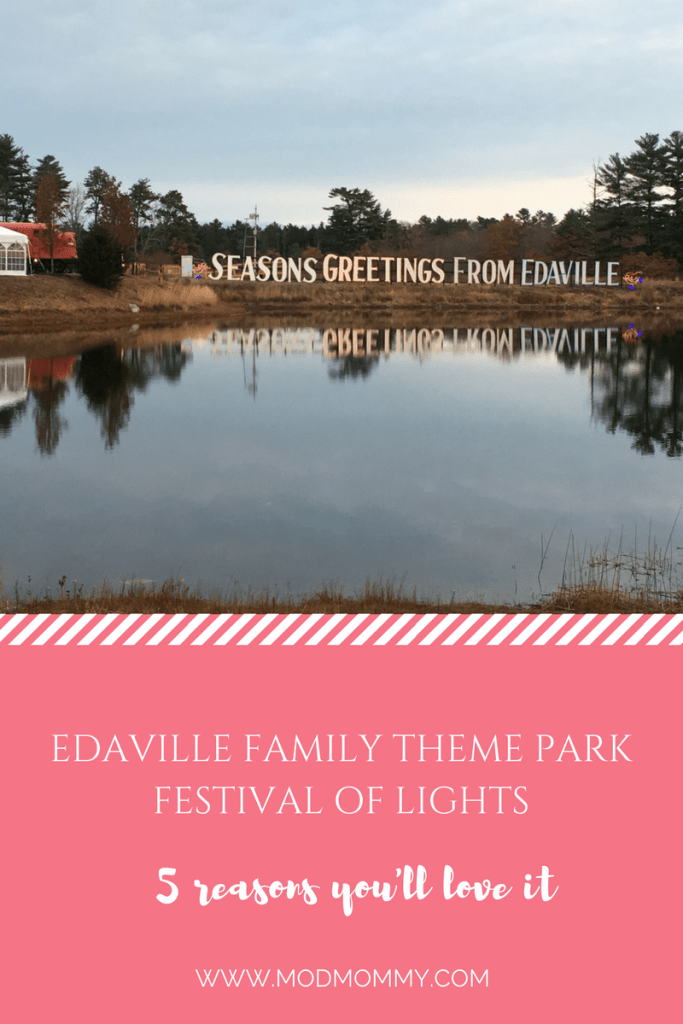 Family Fun at Edaville's Festival of Lights