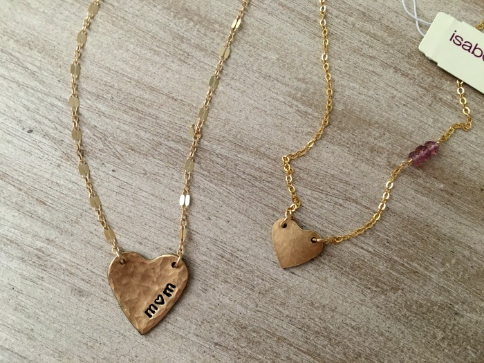 Giveaway: Hammered Heart Duet Set from Isabelle Grace