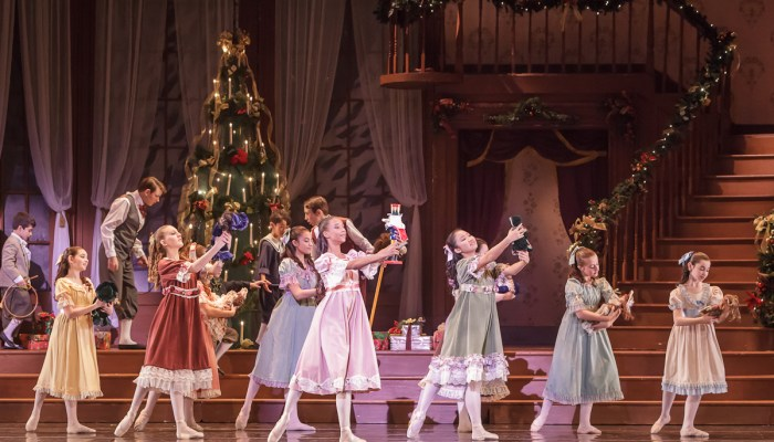 In a Glittering Display, 100+ Children Dazzle in Festival Ballet's The Nutcracker