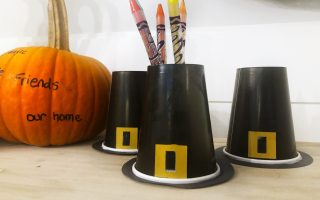 Thanksgiving Craft Decor Kids Can Help Make