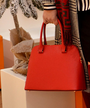 Czerwona torebka H&M