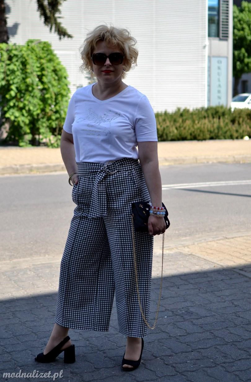 Spodnie i modna kratka