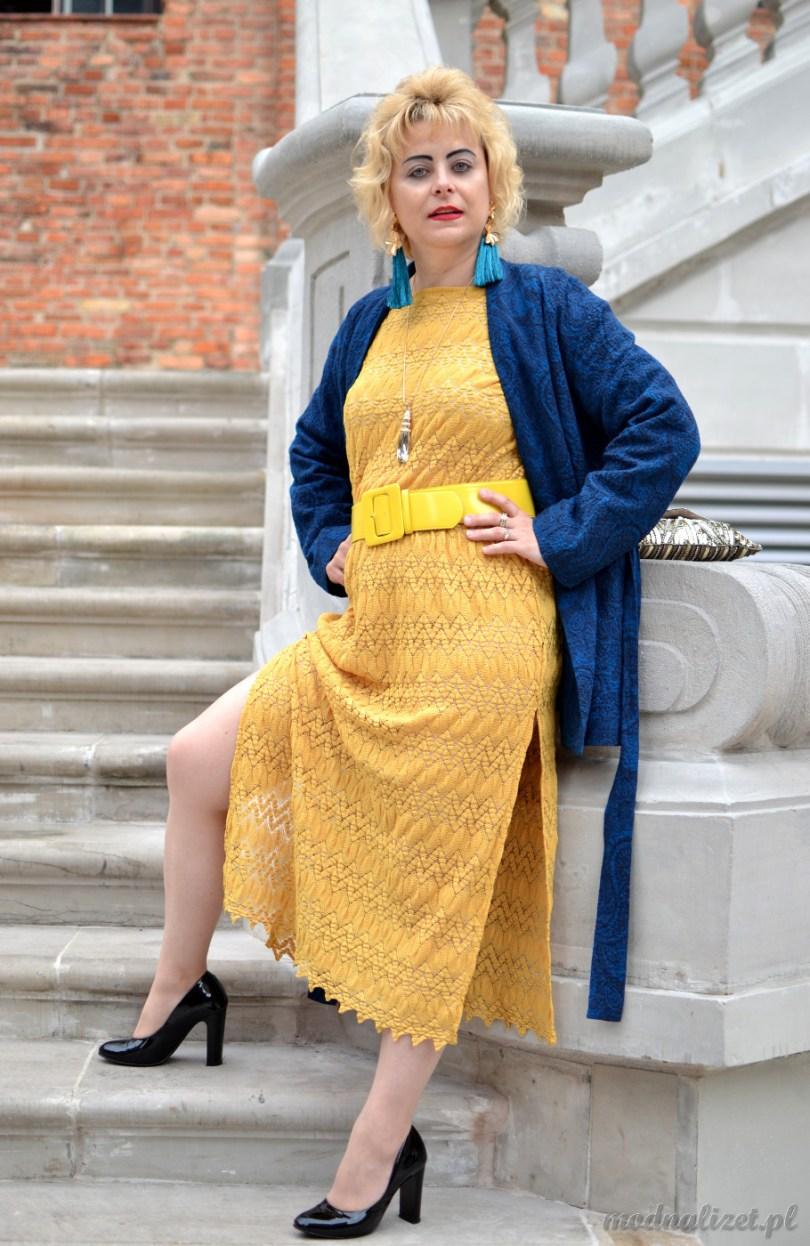 Modna Lizet koronkowa sukienka