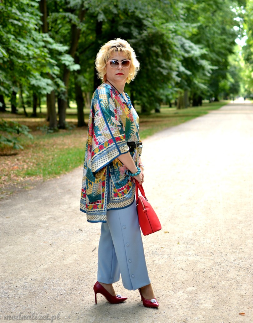 Modna Lizet kolorowa bluzka