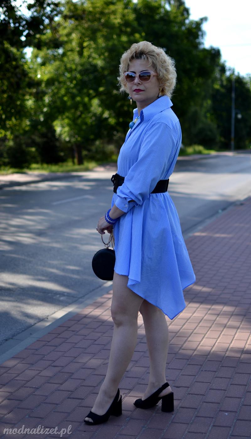 Sukienka błekitna