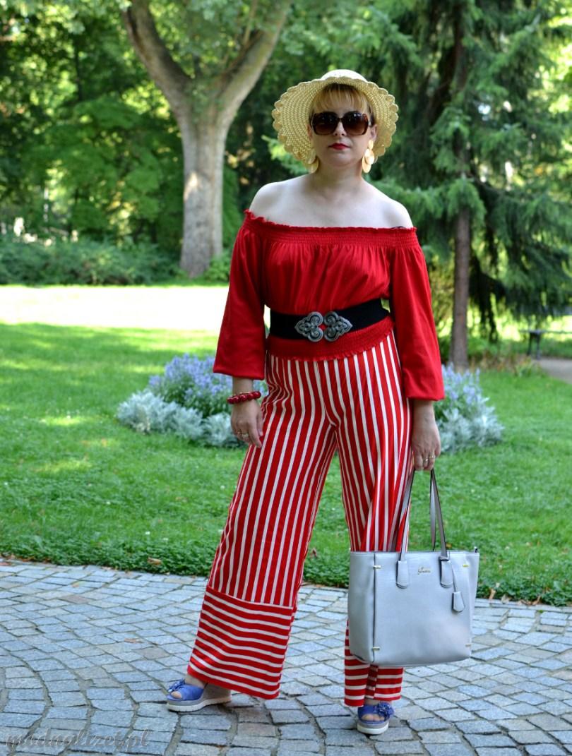 Spodnie i bluzka Modna Lizet