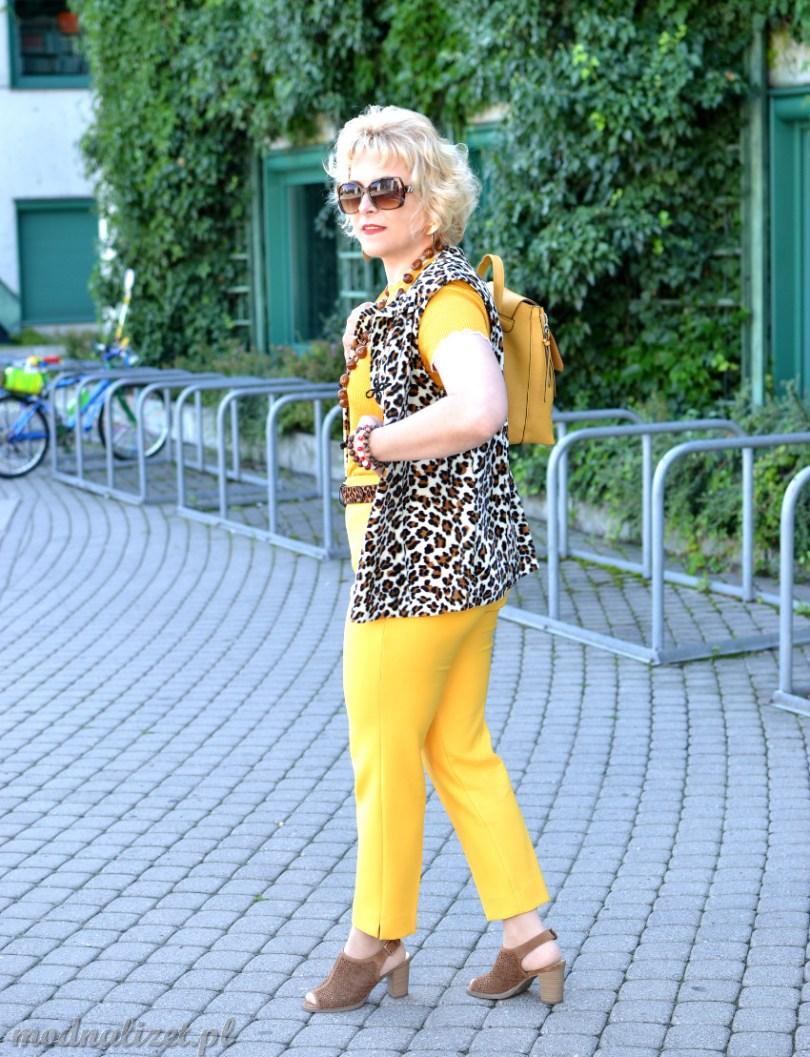 Żółty trend kolor