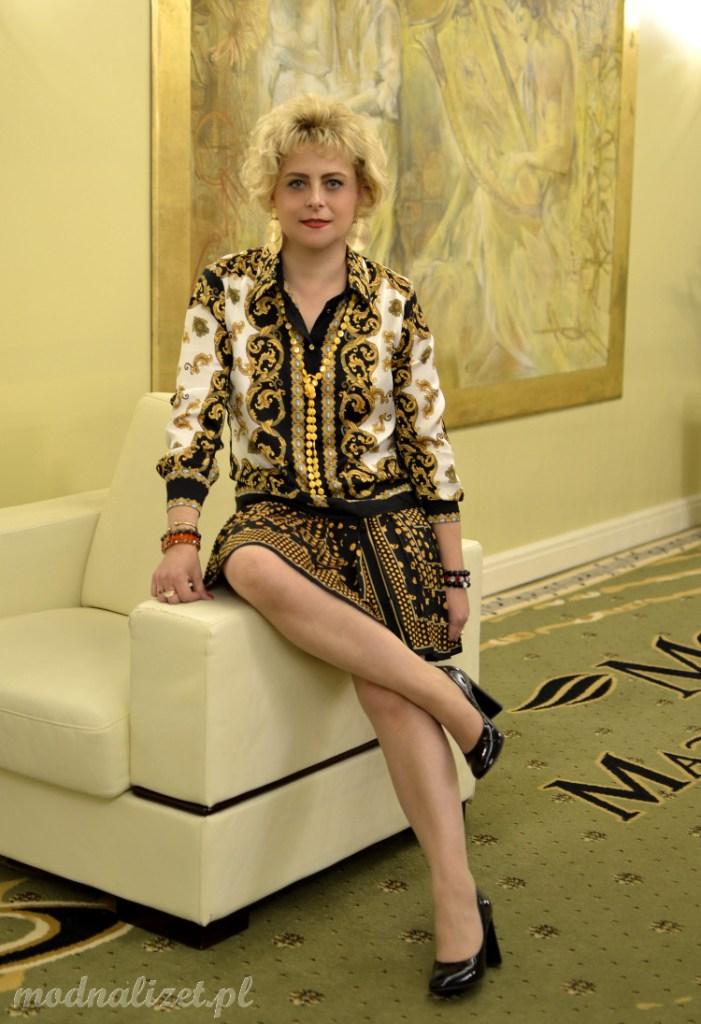 Sukienka motyw Dolce Gabbana