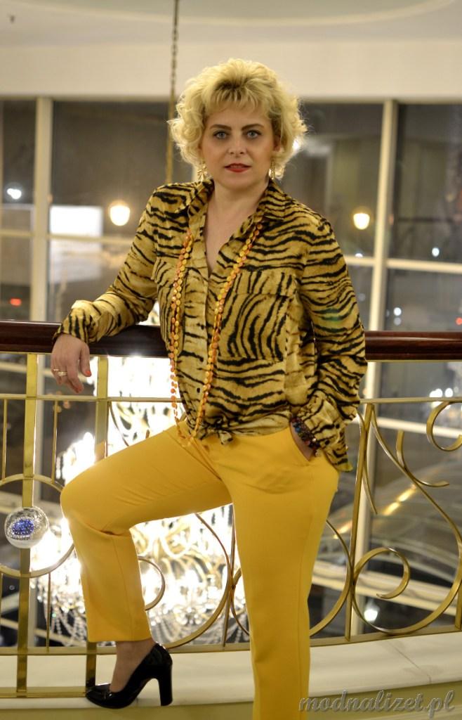 Koszula w tygrysie wzory