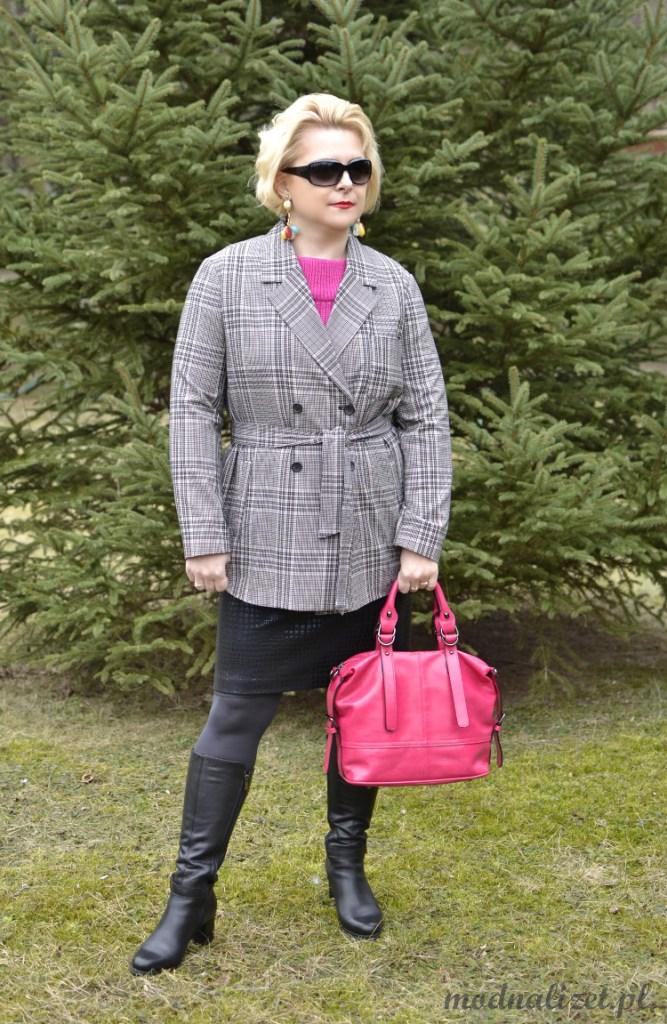 Płaszcz wiosenny Modna Lizet