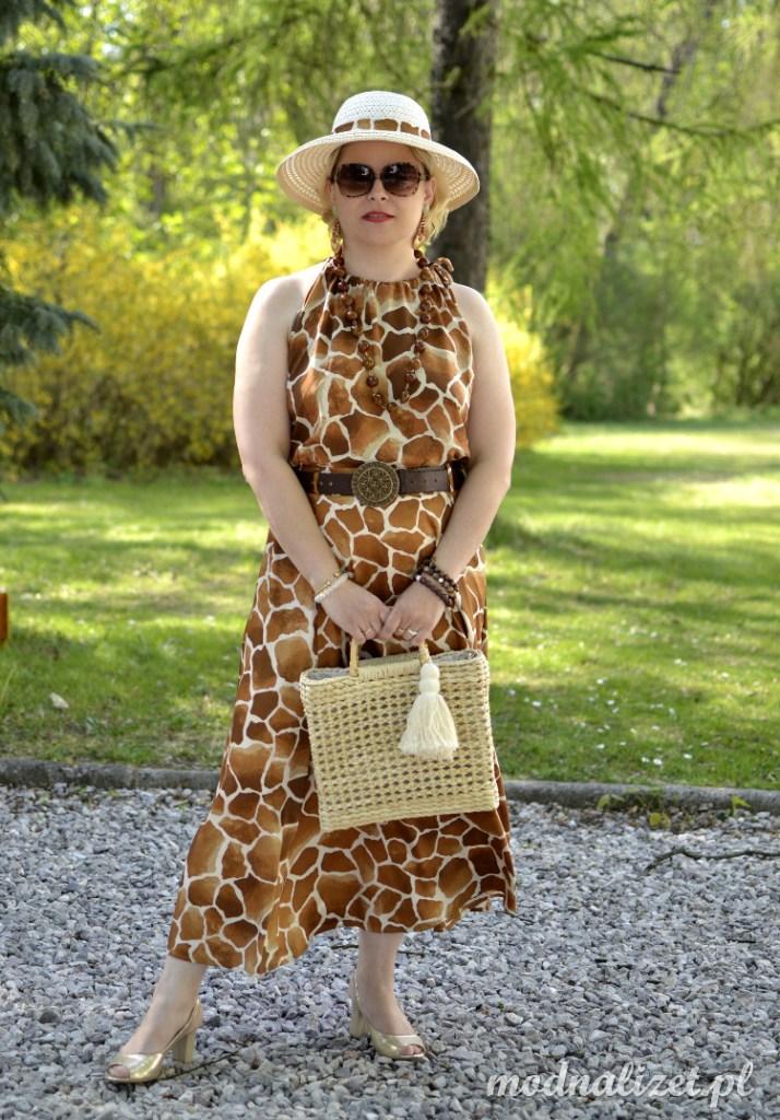 Pożegnanie z Afryką-modna sukienka