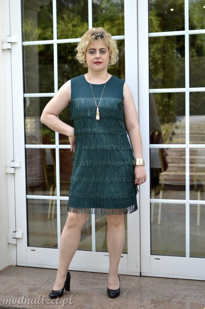 Elegancka sukienka vintage