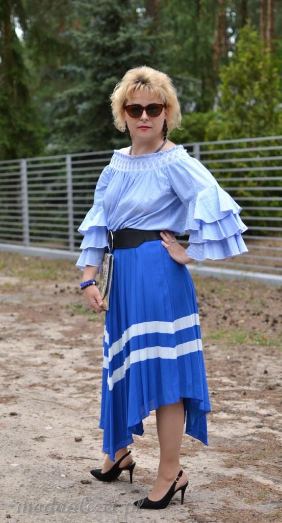 Moda w niebieskich odcieniach